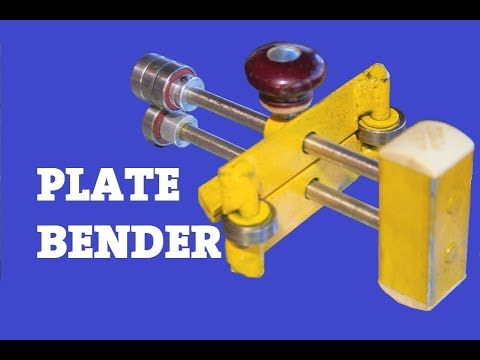 Diy Sheet Metal Bender From Bearings