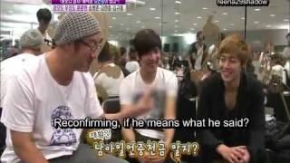 [Eng sub] SS501 Kim HyunJoong visit Kim KyuJong practice room