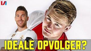 'De Ligt Is een Optie voor Real Madrid, Ramos Is Al 32 jaar'