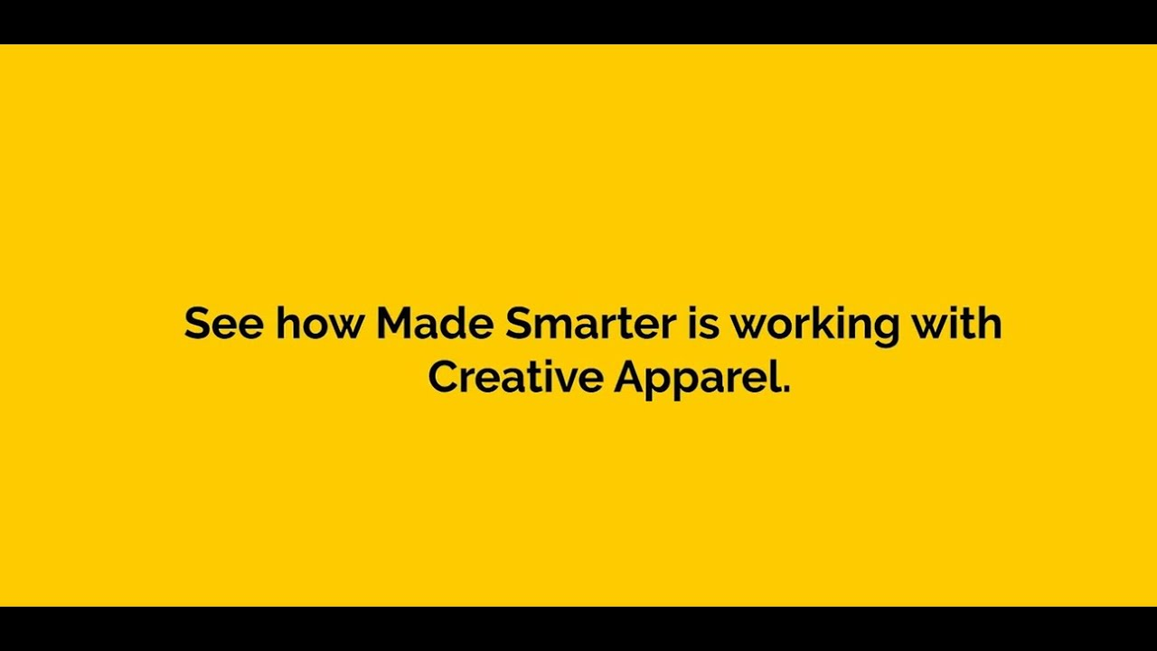 Creative Apparel - Sewing the seeds of sustainable growth