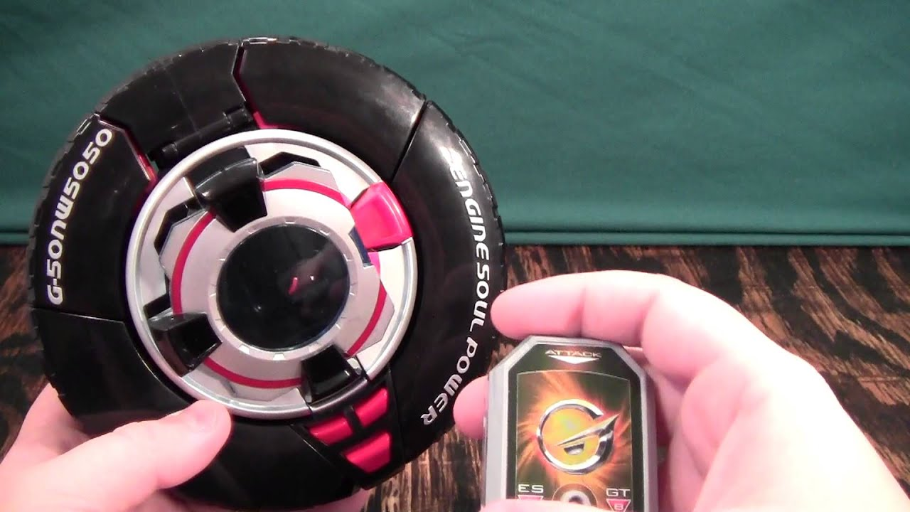 Engine Sentai Go-Onger GoRoader Review (Power Rangers RPM Road Attack Zord  GT)