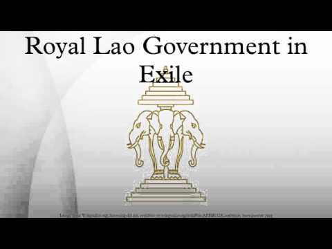Royal Lao Government in Exile
