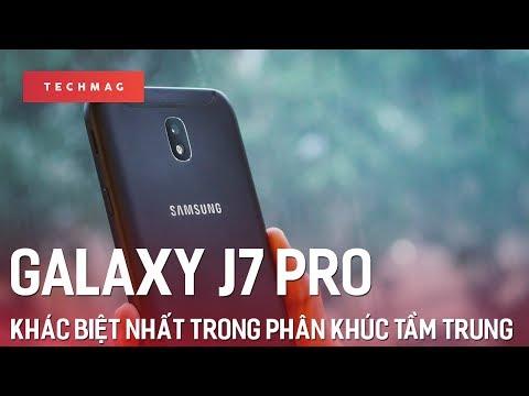 Samsung Galaxy J7 Pro: Khác biệt nhất trong phân khúc tầm trung