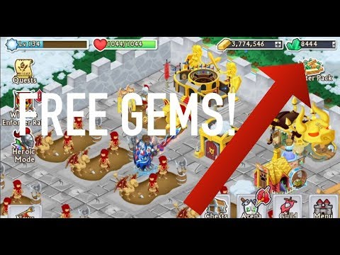 How To Get FREE GEMS! ~ Knights And Dragons