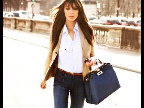 65b6ec15b93 Business casual jeans womens - YouTube