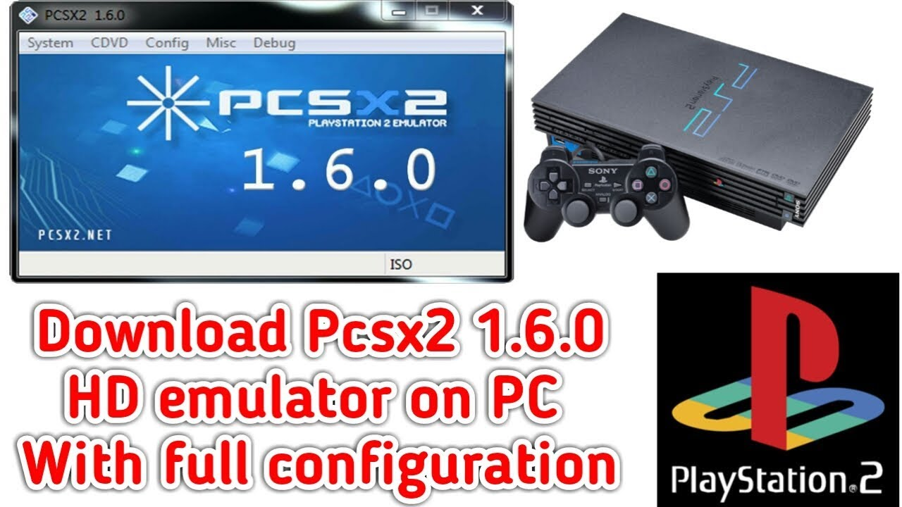 emulador ps2 pcsx2 0.9.6 bios plugins config