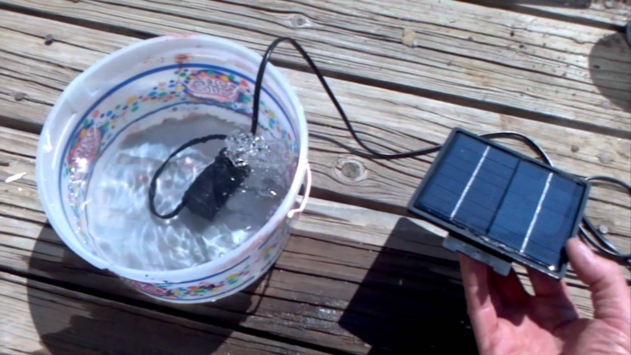 Solar Heater Part One Circulating Pump Youtube