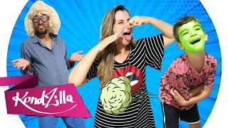 PARÓDIA | Combatchy - Anitta, Lexa, Luisa Sonza feat MC Rebecca - Soltar um pum comendo chocolate