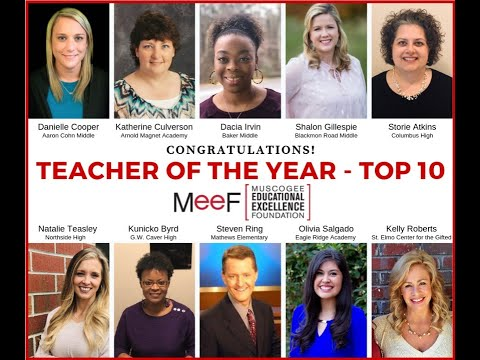 Semifinalists named for 2019 Teacher of the Year in Muscogee County