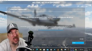 Let's Watch Microsoft  Flight Simulator Download  All Day Long