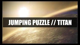 Jumping Puzzle Techniques // Shortcut Jump Variants [Titan] : Destiny [Vault of Glass]