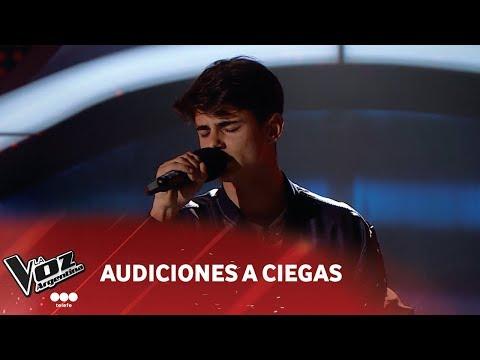 "Agustín Iturbide - ""Perfect"" - Ed Sheeran - Audiciones a Ciegas - La Voz Argentina 2018"