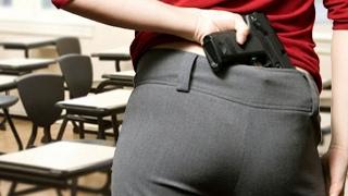 Stell dir vor, dein Lehrer würde eine Waffe tragen