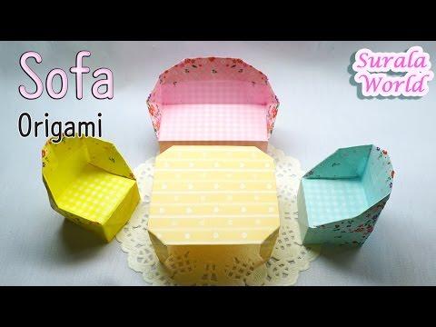 Origami - A Living-Room Suite : 2. Sofa