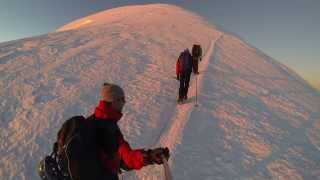 Climb and flight - Mont Blanc Summit 4800