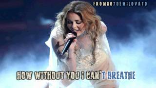 Miley Cyrus Take Me Along Karaoke (HD)