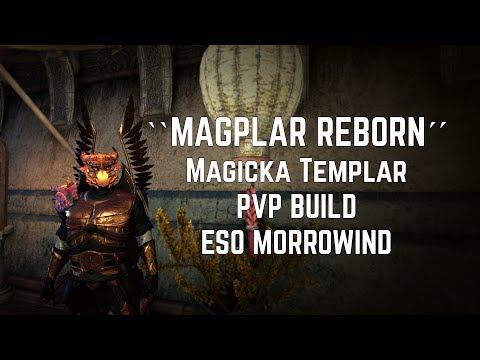 'MAGPLAR REBORN' (NO JABS?!)   Magicka Templar PVP Build   ESO Morrowind