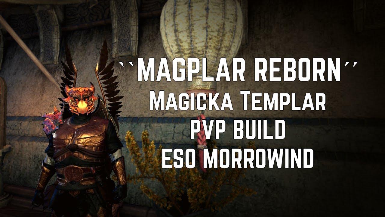 Magicka Pvp Templar Build