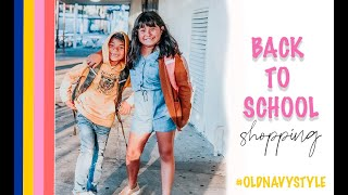Back To School Shopping - Old Navy