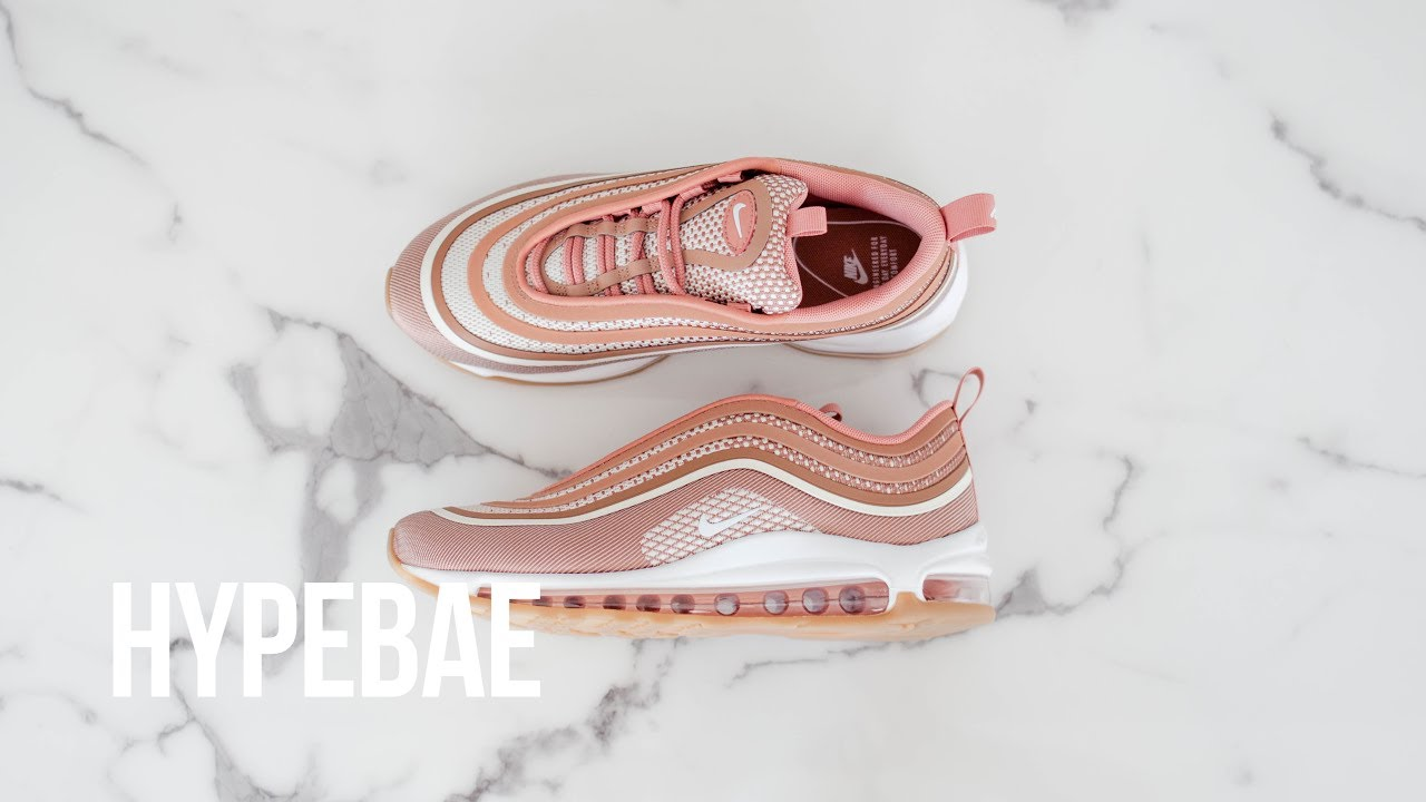 nike air max 97 ultra metallic rose gold