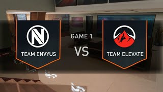 EnVyUs Vs Team eLevate | MLG Orlando Open 2016 Day 1