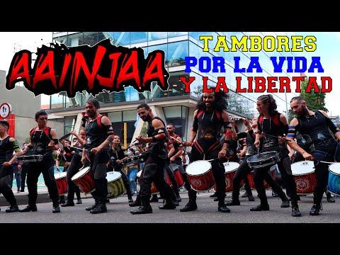 🥁 AAINJAA el ritmo de la resistencia ✊🏻 PARO NACIONAL COLOMBIA