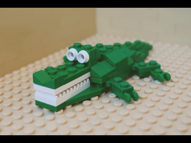How to build a LEGO crocodile (with free instructions)