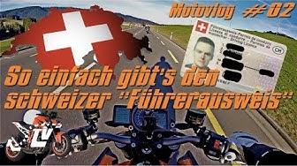 MotoVlog #02 so einfach gibt's den schweizer Führerschein in 1080P | KurvenradiusTV
