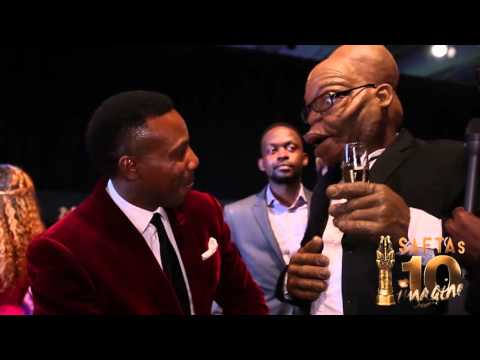 SAFTAs10 - ZaNews Zuma Red Carpet Interview
