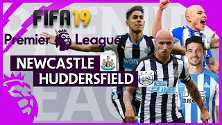 Newcastle vs Huddersfield   FIFA 19 Premier League Gameweek 27 Highlights