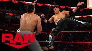 Andrade vs. Humberto Carrillo - United States Championship Match: Raw, Jan. 27, 2020