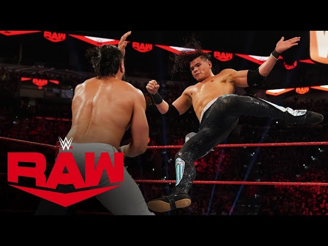 Andrade vs. Humberto Carrillo - United States Championship Match: Raw, Jan. 27, 2020