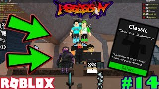 ROBLOX | ASSASSIN: CLASSIC #14 (ICE LORD WITH FREEZE GAMEPLAY W/ Nightmare Assassinz)