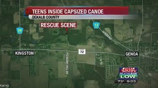 Two Teens Rescued from Kishwaukee River