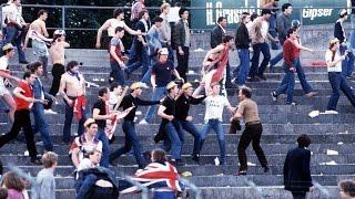 Football Hooligans - Switzerland v England - 1981
