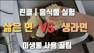 린클 | 미생물 음식물 처리기 | 라면 비교 실험 [딩…