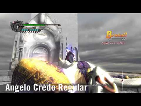 Devil May Cry 4 - All Nero's Grabs/Busters