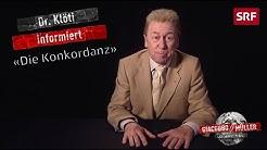 Dr. Klöti und die Konkordanz | Giacobbo / Müller | SRF Comedy
