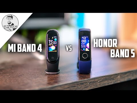 Wait for Mi Band 4? Honor Band 5 vs Mi Band 4 Detailed Comparison!