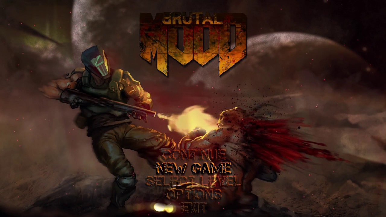 Brutal MooD™ - If DOOM Was a Top Down Shooter!