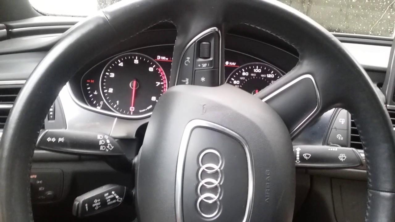 2012-2018 Audi A6 S6 Oil Change Service Reminder Light Reset