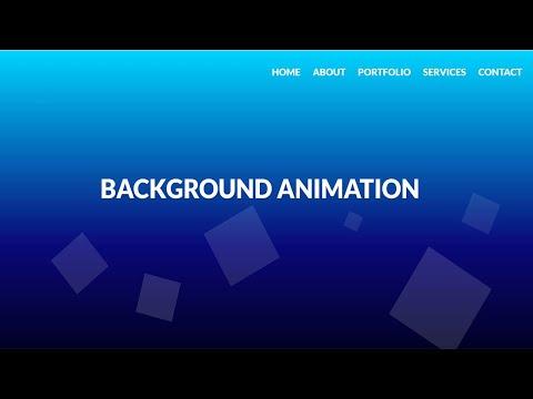 Animated Background HTML CSS   No Javascript