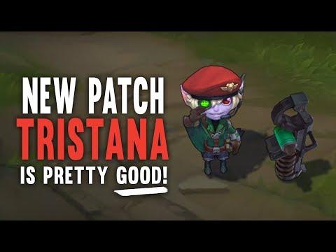 Imaqtpie - NEW PATCH TRISTANA IS PRETTY GOOD!
