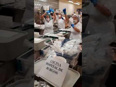 """Canta la cocina del HUBU: """"Resistiremos mientras vosotros resistáis"""""""