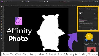 How To Cut Oขt Any Subject Perfectly Using Affinity Photo Part 2
