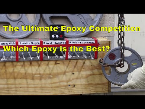 The Ultimate Epoxy Competition--Which Epoxy is the Best?