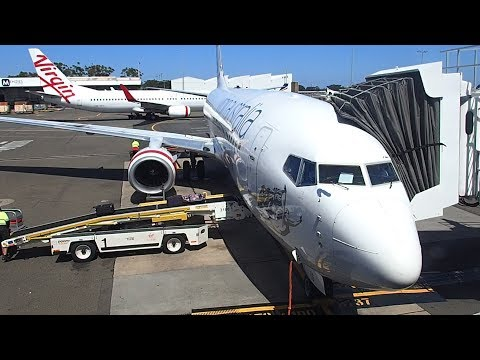 Virgin Australia Sydney to Gold Coast B737-800 Economy Class