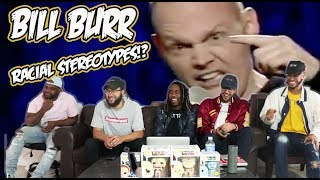 Bill Burr - Movie Racial Stereotypes Reaction/Review