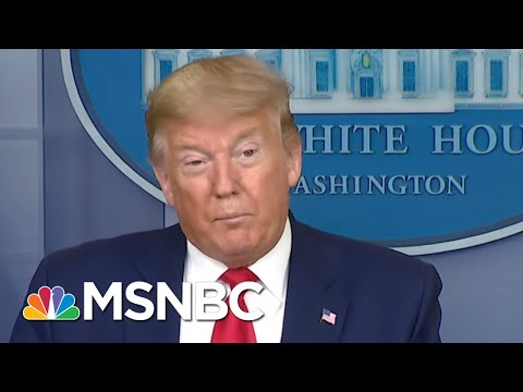 President Donald Trump Says Blue Cross Blue Shield Waiving COVID-19 Copays For Next 60 Days | MSNBC