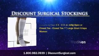 Mediven Ulcer Kit Calf Length 2 Stockings 1 Liner - White **